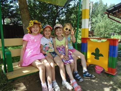 Летняя дача-детский сад