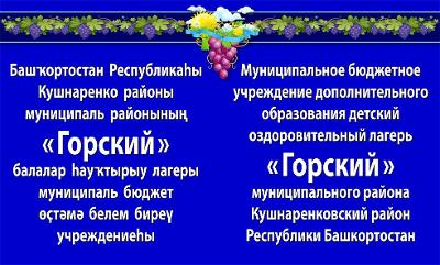 """Центр детского отдыха, оздоровления и туризма """"Горский"""""""
