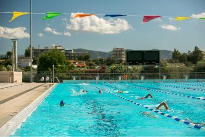 Тренировочный лагерь по плаванию с Александром Поповым