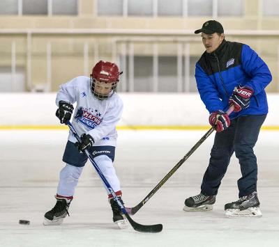 "Лагерь ""International ice hockey camp"""
