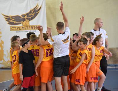 Баскетбольные сборы - Пересвет. Баскетбольный клуб Стремление